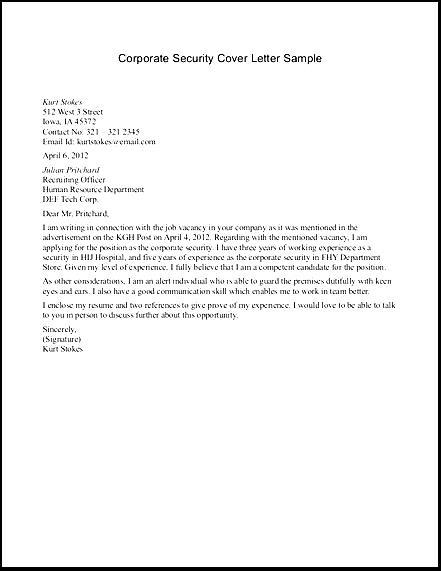 sample resume cover letter for police officer