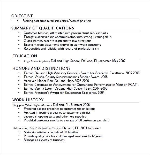 Suzie Student Teen Resume PDF  Free Samples  Examples
