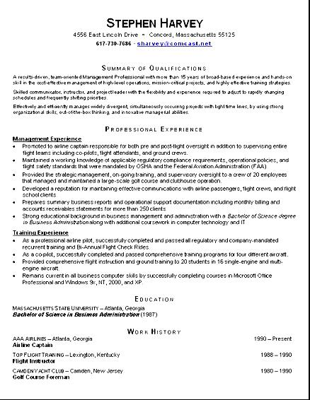 View Resume Examples View Resume View Sample Resume Astounding