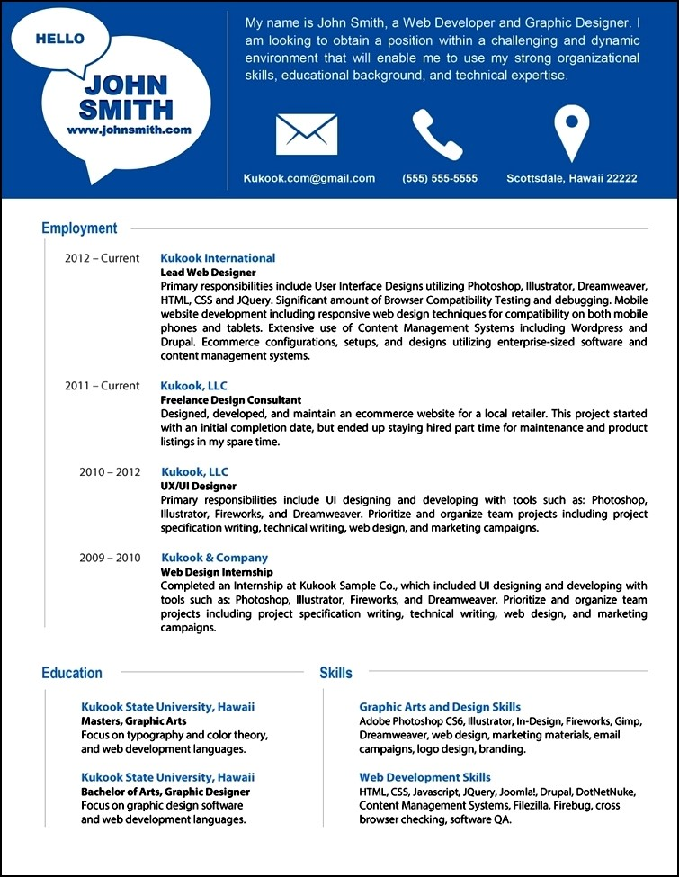 Modern Resume Tips  Free Samples  Examples  Format