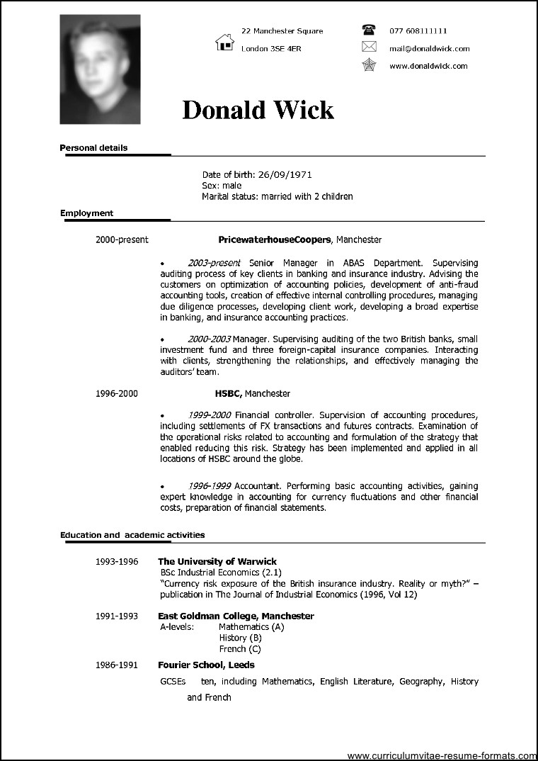 Example resume doc examples of resumes resume examples in english doc resume ixiplay free resume samples yelopaper Gallery