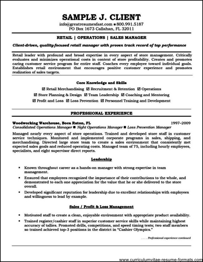 The Simple And Perfect Resume To Be Accepted By Any MNC By Sandhun Inside  The Perfect  Typical Resume Format