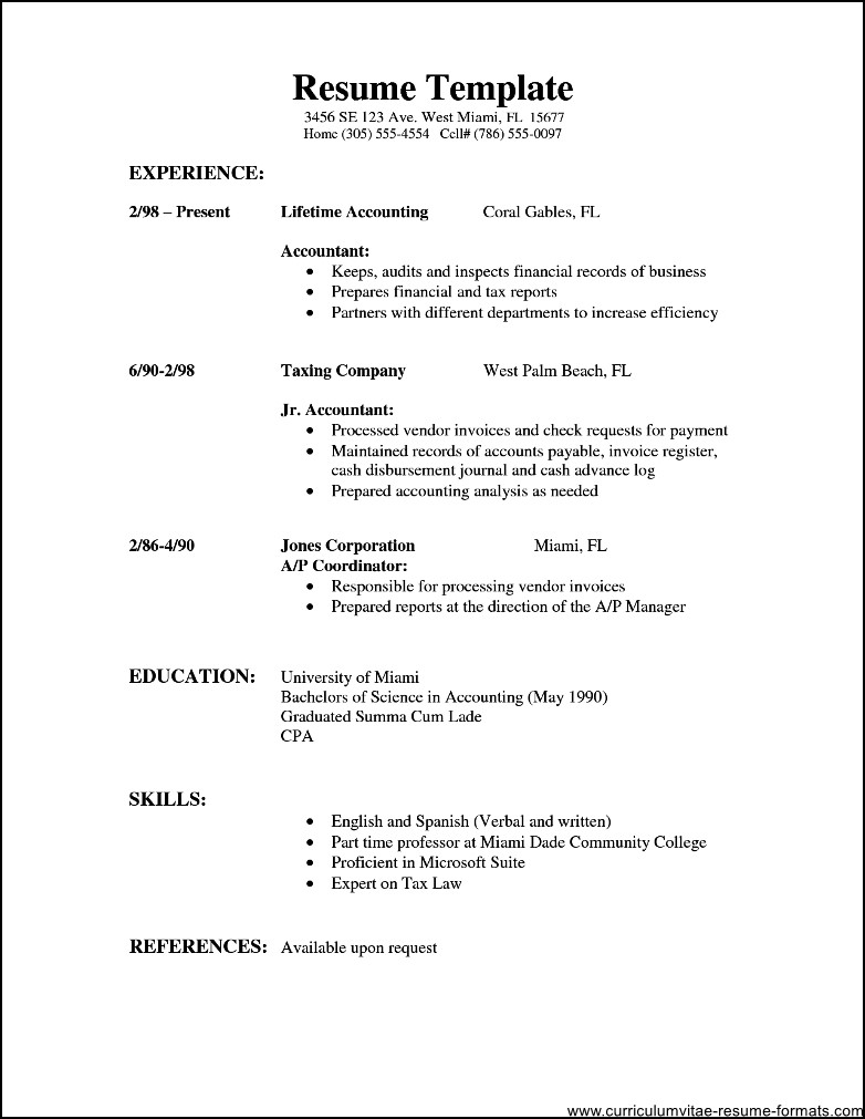 Resume Wording For Customer Service Position  Typical Resume Format
