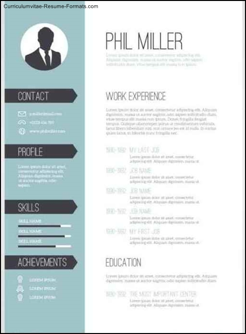 Editable Resume In Word Format Free Resume Templates