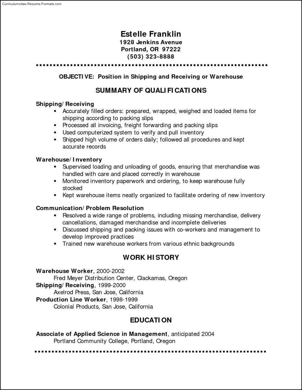 Free Resume Templates Pdf Format Free Samples Examples