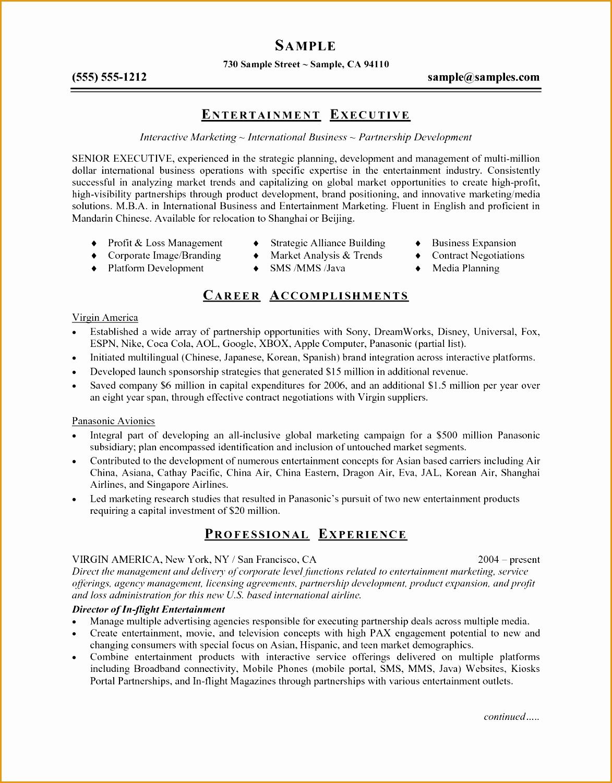 5 Microsoft Word Resume Templates Example