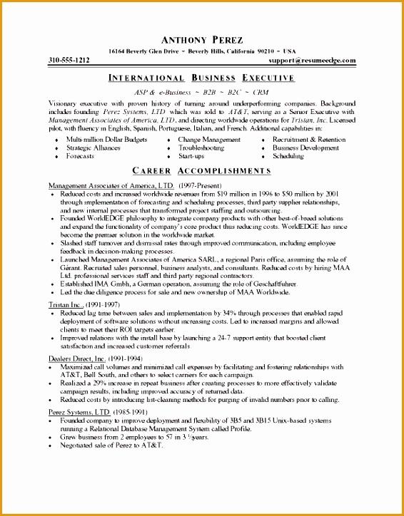 powerful resume sample formats