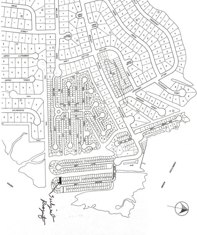 141 Inlet Lane Map