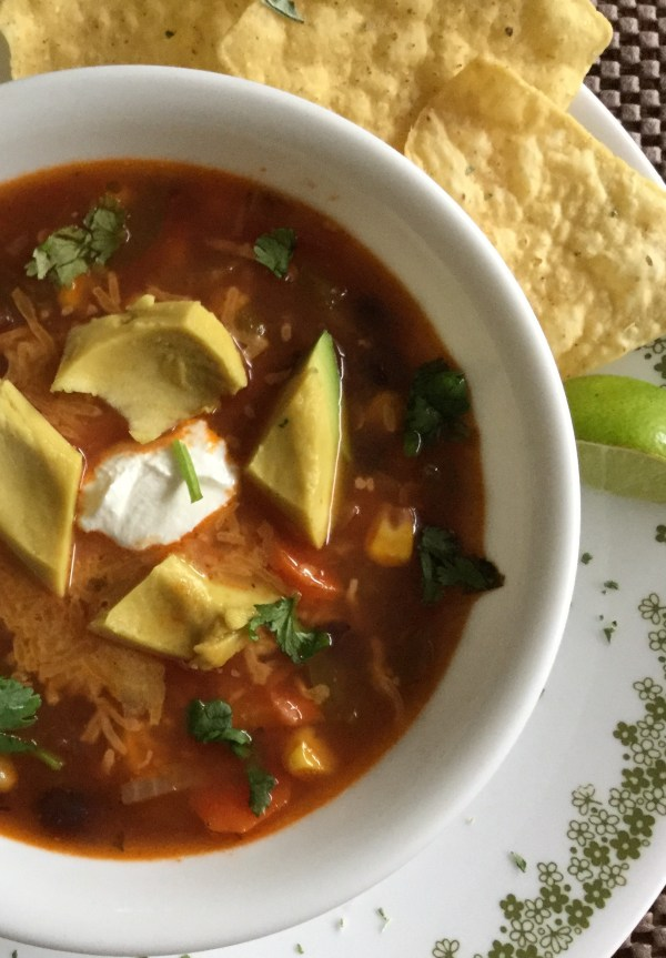 Quick and Easy Mexican Vegetarian Soup