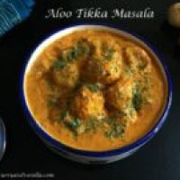 Aloo Tikka Masala/Grilled Potato Curry
