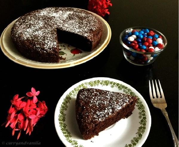 Eggless Beetroot Cake Recipe