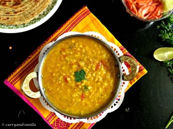 Tadkewali Masoor Dal/Red Lentil Curry