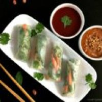 Vietnamese Style Vegetarian Spring Rolls Recipe