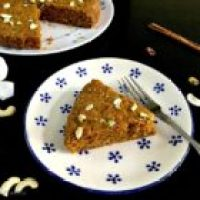 Super Moist Carrot and Apple Cake (Egg Free and with Whole Wheat)