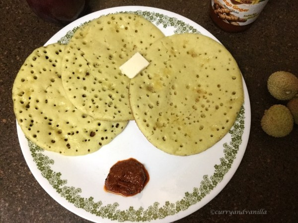Surnali dosa soft konkani style rice pancakes sweet and for Recipes for pancakes sweet and savory