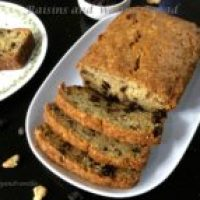 Egg-Free Raisins and Walnuts Quick Bread