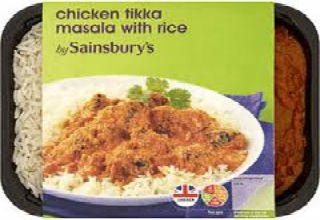 Sainsbury's chicken tikka masala