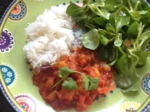 Pruimen-tomaat curry