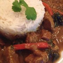 Lamscurry met rijst
