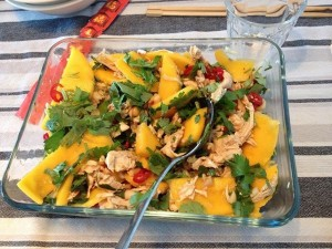 Thaise mangosalade