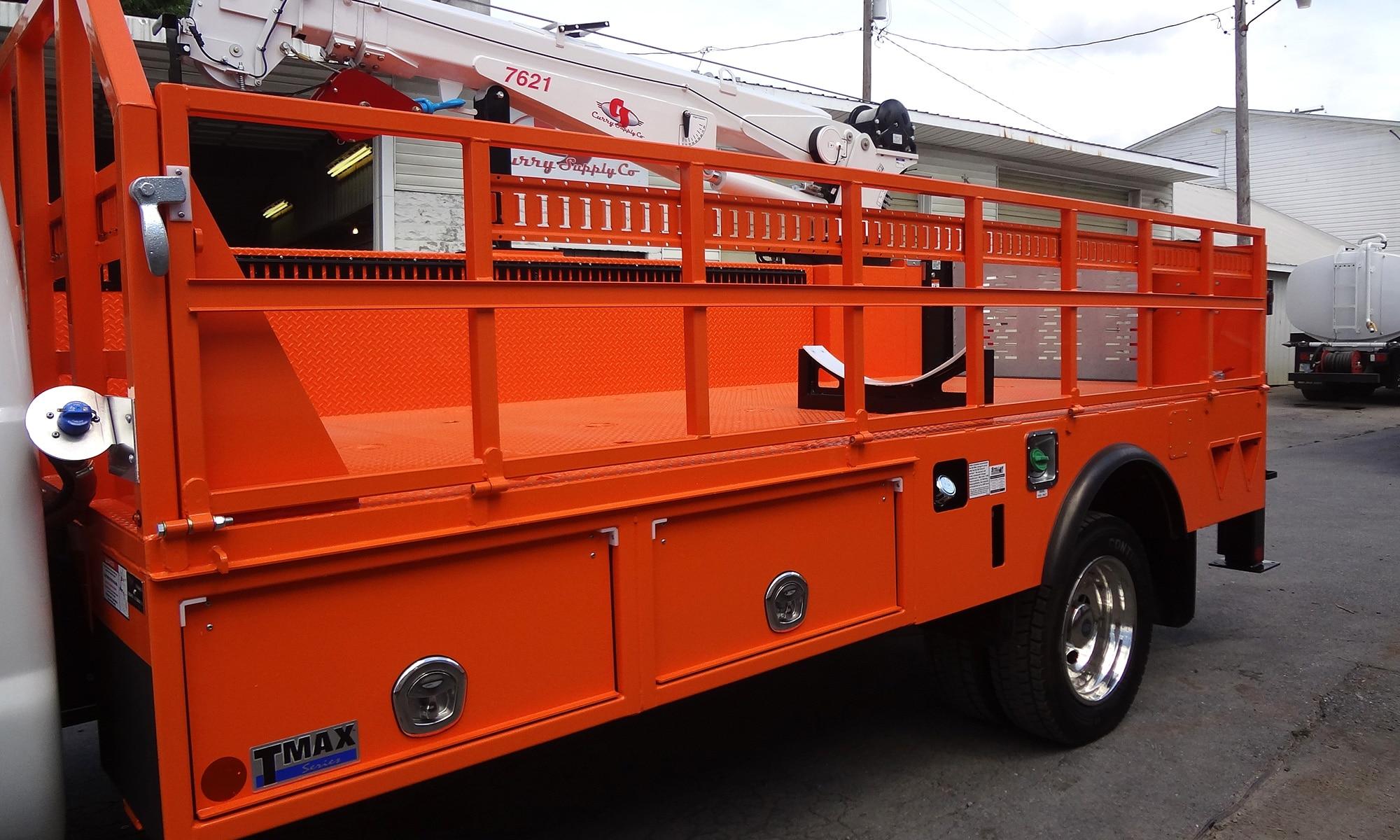 Propane Service Trucks Curry Supply Company