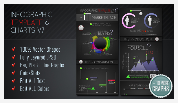 Infographic Elements + Template - 4
