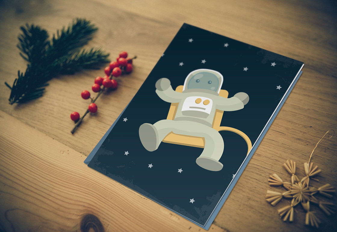photoshop holiday card templates