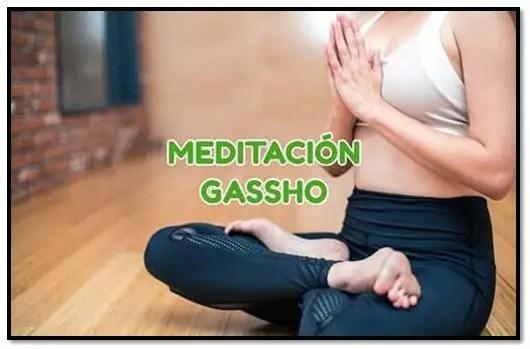 Meditación gassho
