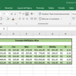 Aprenda uma dica valiosa ao criar planilhas com diversas abas no Excel