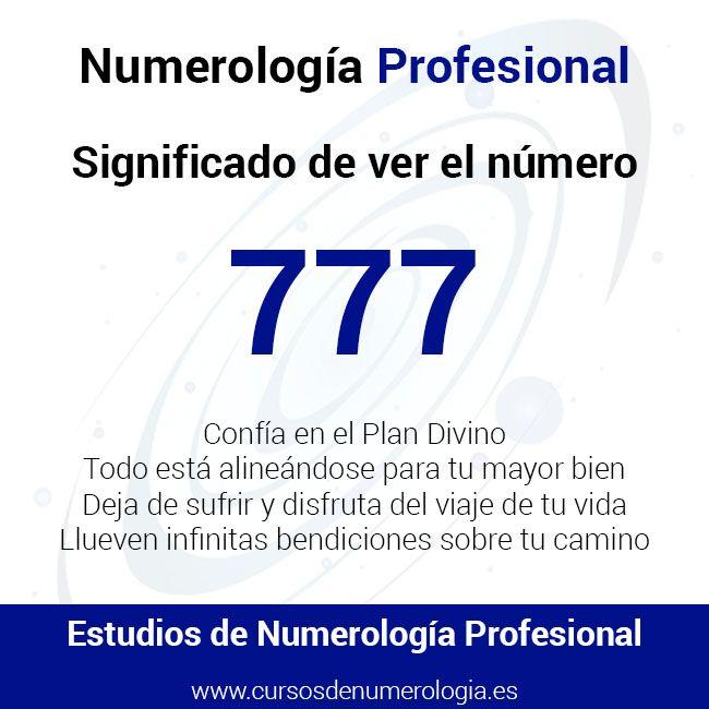 significado del número 777