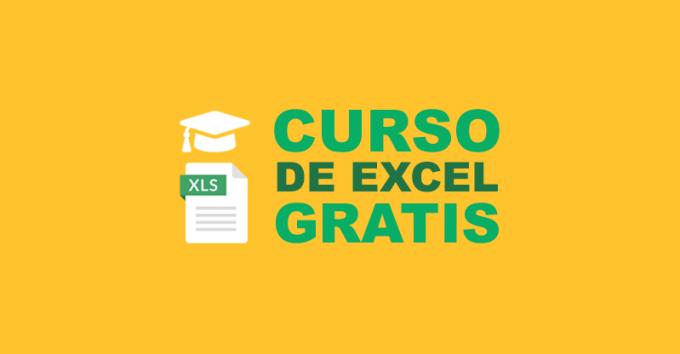 Curso de Excel Gratis Online Básico en Español