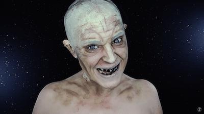 Maquillaje de Gollum
