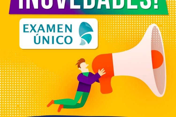 Nueva fecha examen único 2021
