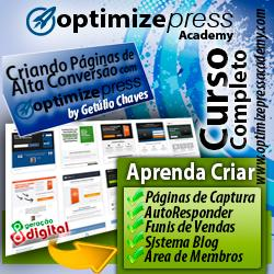 OptimizePress Academy templates portugues