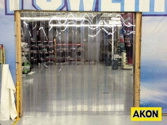 Plastic Industrial Curtains  Akon  Curtain and Dividers