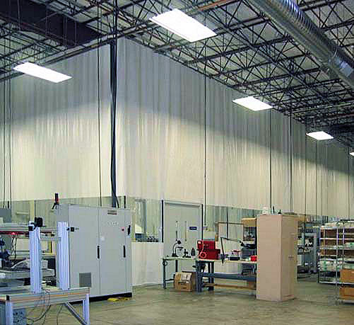 Industrial Curtain Walls  Akon  Curtain and Dividers  Custom Made
