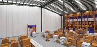 Warehouse Divider Curtains - Akon  Curtain and Dividers ...