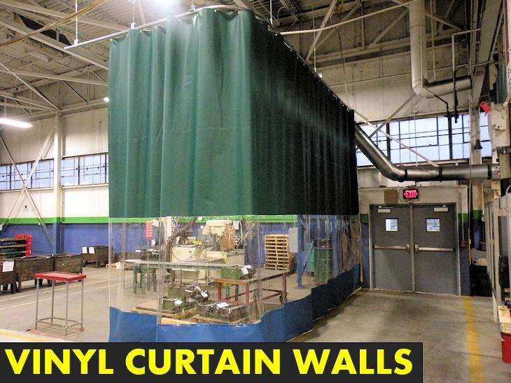vinyl curtain walls