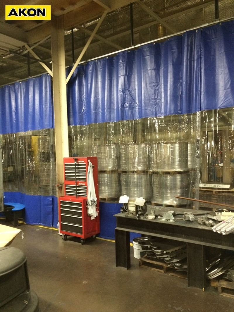 Temporary Curtain Wall  Akon  Curtain and Dividers