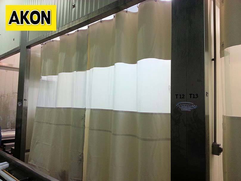 Heavyduty vinyl curtains  Akon  Curtain and Dividers