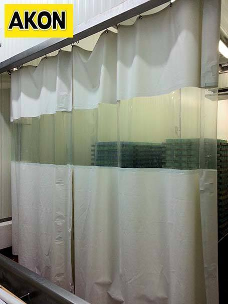 Heavy Duty Vinyl Curtains  Industrial