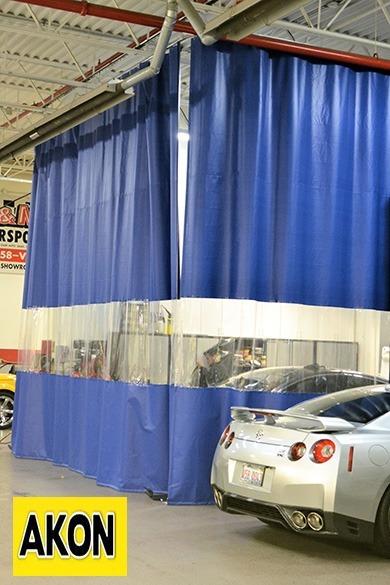 Heavyduty vinyl curtains  Akon  Curtain and Dividers