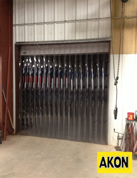 Industrial Strip Curtains  Akon  Curtain and Dividers