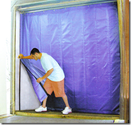 Loading Dock Curtains  Akon  Curtain and Dividers