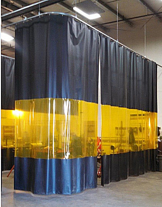 Welding Curtain Walls  Akon  Curtain and Dividers  Custom Made