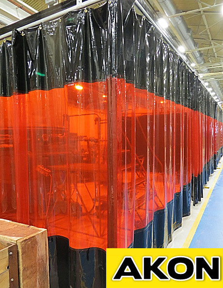 Welding Booth Curtains Akon Curtain And Dividers