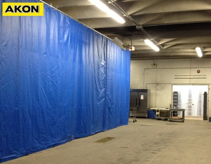 Paint Booth Curtain