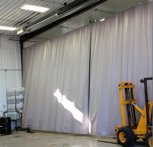 Industrial Curtain Walls  Akon  Curtain and Dividers