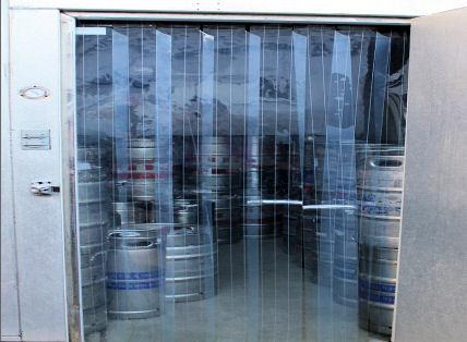 Custom Cooler and Freezer Strip Doors  Akon  Curtain and