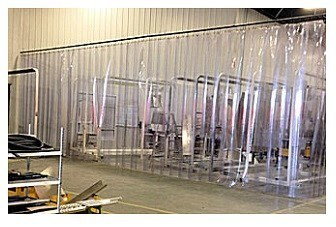Cold Storage Freezer Curtains  Akon  Curtain and Dividers